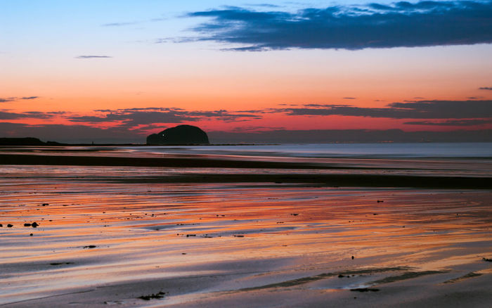 Landscape Eye Em Scotland Scenics Scotland Nature Sunset Bass Rock