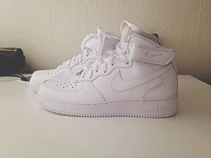 New babe ? Nike Airforce1 AF1  White