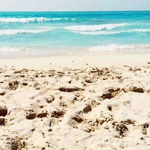 Beach Blue Ocean Saadiyat abudhabi uae love ♥