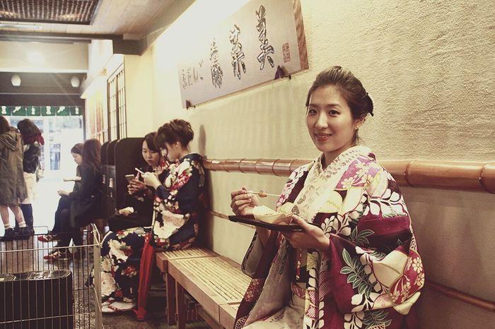 Japan Koyto 糰子 Kimono Butiful Woman Girl