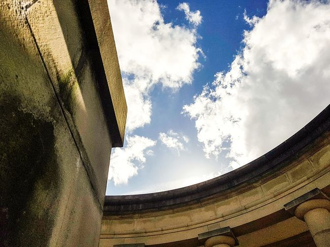 Cloud - Sky Sky Nature Day Rural Scene Low Angle View History Travel Destinations Outdoors No People Landscape Architecture Beauty In Nature Ancient Civilization Columns Building Arched Sunday EyeEm Selects Arches Huddersfield Greenhead Park Park Low Angle View Architectural Column Sommergefühle Let's Go. Together.