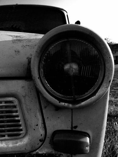 Showcase April Showing Imperfection Old Car Trabant Vintage Vintage Cars Black And White How Time Flies Evergreen Black And White Friday