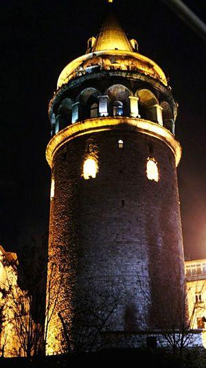 Стамбул галатскаябашня вечер вечерняябашня декабрь2014