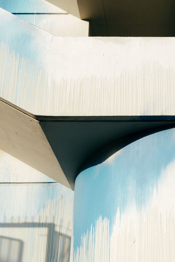 Abstract Architecture Blue Built Structure Day Light And Shadow Minimalism No People Shadow Simplicity Minimalist Architecture The City Light