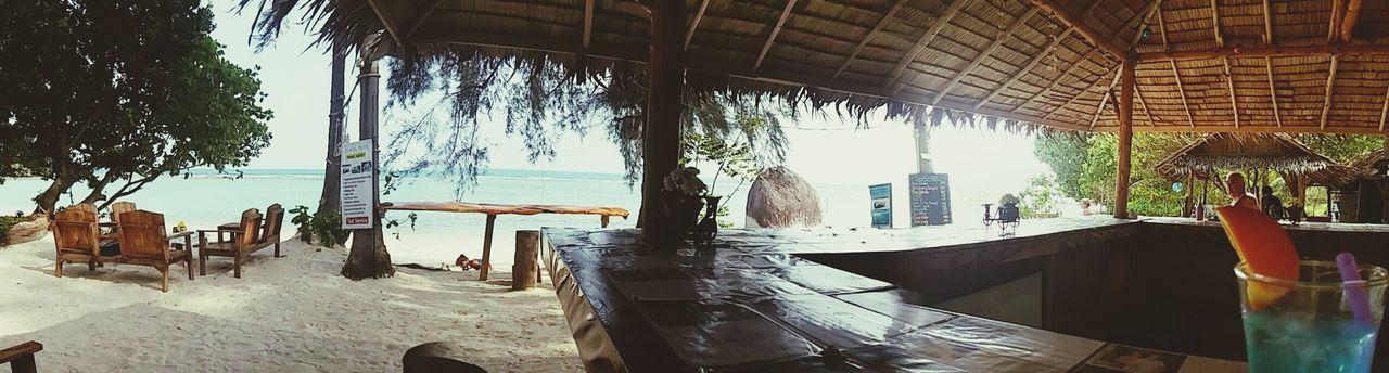 Cool Bar in Koh Samui. Bluedrink Beachphotography Bar Sand Sea Palmtrees Cocktails