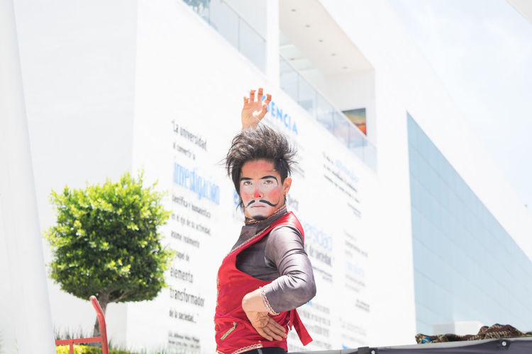 Clown Payaso Show Performance Joy Joyful Men Circus