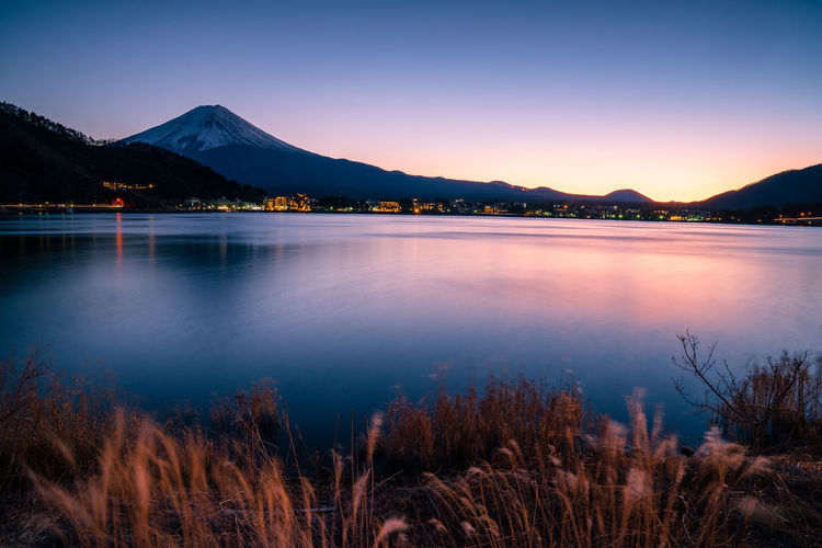 Mountain Water Scenics - Nature Sky Lake Beauty In Nature Nature Mountain Range Landscape Tranquil Scene No People Reflection Outdoors Twilight