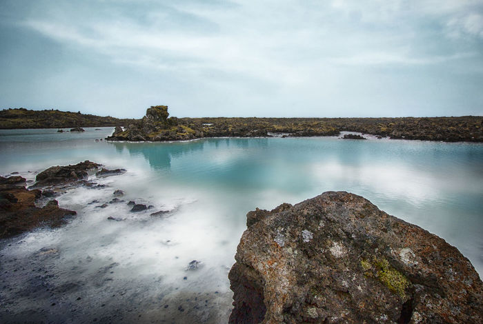 Blue Lagoon Beauty In Nature Blue Lagoon Iceland Lava Nature No People Spa Stream Tranquility Travel Water