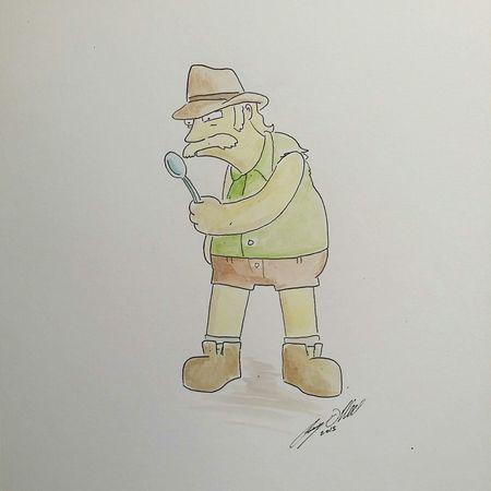 ...this is a knife Knifeyspooney Toronto Torontoartist Simpsons Spoon Illustration Sketchbook Sketch Doodle
