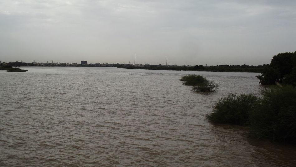 Blue Nile with White Nile mixture area. Sudan Sudanese NileRiver Nile River Bluenile White Nile Olcay Özfırat