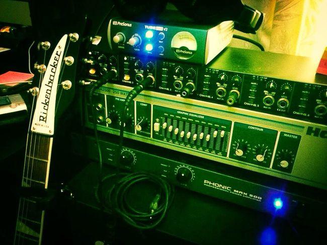 Rickenbacker360  Recording Studio Studio Session