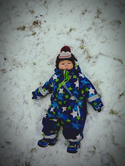Exhausted Child Winter Children Only Warm Clothing One Person Childhood Snow Cold Temperature Outdoors Iceland Children Of Iceland Children Of Eyeem
