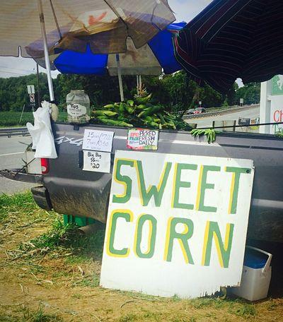 Pickuptruck Jerseycorn Corn Cornstand Farmstand Newjersey Sideoftheroad Bestever