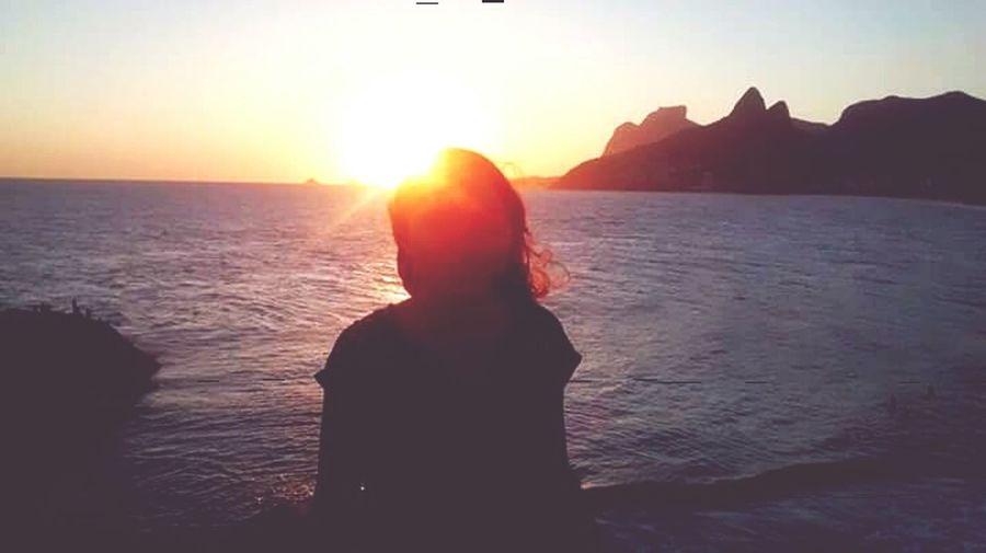 Pôr do sol 💜✌😍😍