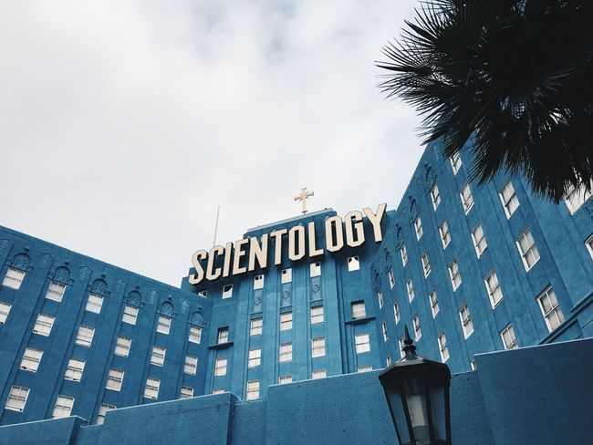 Architecture Building Exterior Built Structure Sky Low Angle View No People Outdoors Day Blue Scientology Scientology