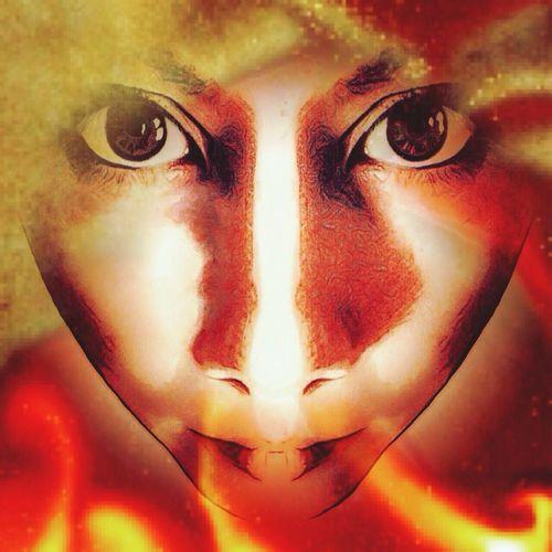 Pyrotechnics Pyromantic Pyromania Michelle Reddicliffe Fire Starter Fire Burning Surrealist Art Wild Woman Surrealism