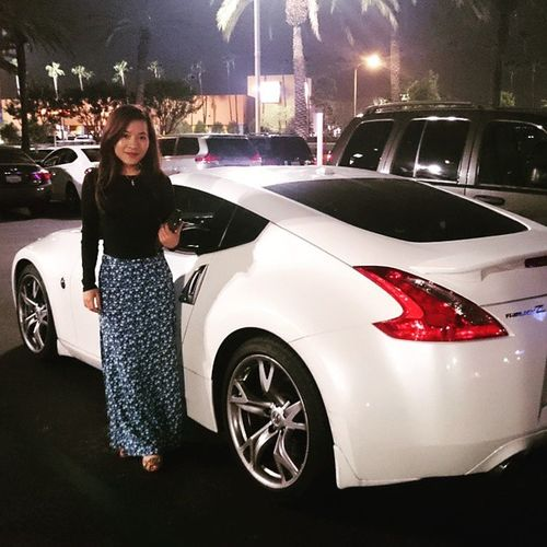 Beautiful. The girl ain't bad either. 370z Z34 Z FairladyZ Nissan370z