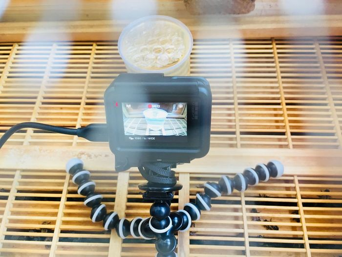 GoProhero6 Technology Indoors  Communication Close-up No People Telephone Receiver Day