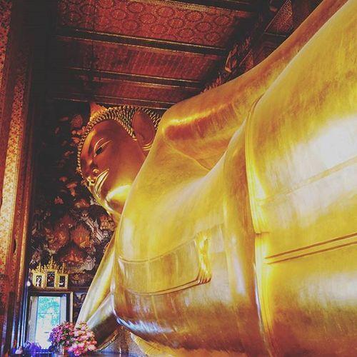 Peace within..... Bangkok.. Sleeping Buddha Sleepingbuddha Bangkok Crazyholidays Amazing Igs_asia Igs_photos Waycoolshots Insta_vibrant Instafamous Instacool Cool_capture_ Picoftheday Tagsforlikes