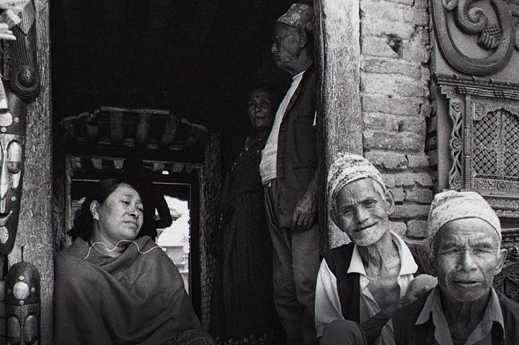 Faces of Kathmandu Kathmandu Kathmandu, Nepal Traveling Travel Believeinfilm Film Filmisnotdead Film Photography Portrait Leicacamera B&w Street Photography