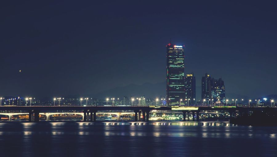 Han-river 63 63building Korea Southkorea Hangang River Night D7000 Nikon Seoul Dynamic Built Structure Architecture Building Exterior Illuminated Night Water Building Travel Destinations No People Reflection Nature River Skyscraper Modern Tower Tall - High Office Building Exterior Sky City Waterfront