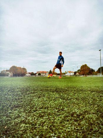 Seeking greatness . Football Montauban,tarnetgaronne,France Field