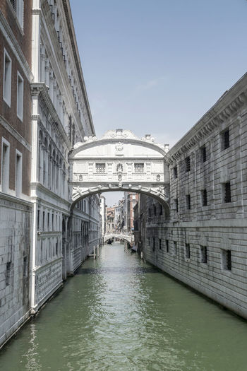 Bridge Of Sighs Venice Venice, Italy Arch Architecture Built Structure City Outdoors Travel Destinations Water
