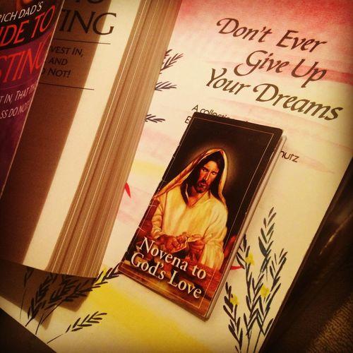 Books Dreams Do Come True  God's Love Hanging Out Motivation Novena Prayers Religion