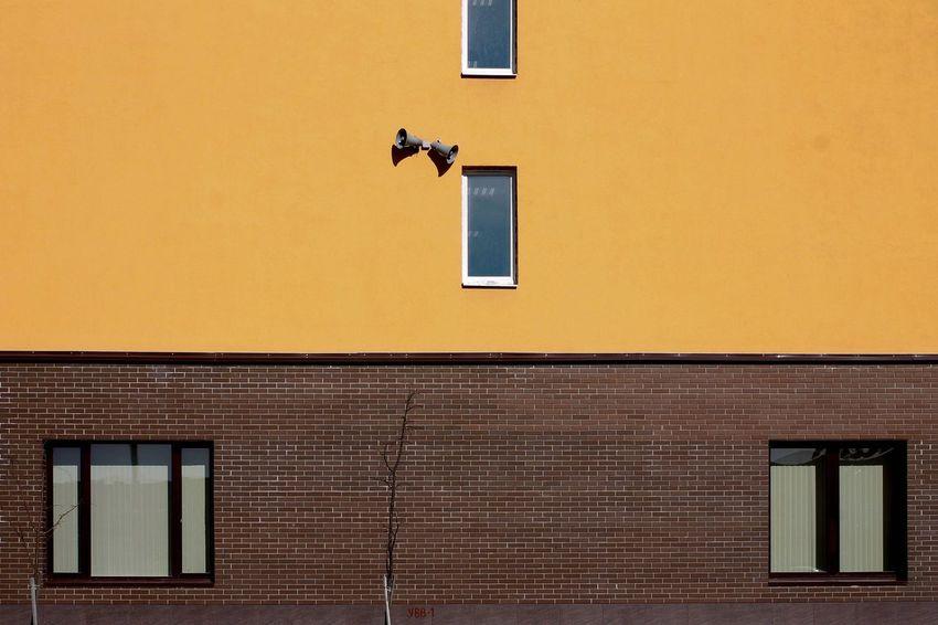 Building Exterior Architecture Window No People Day Yellow Minimalism The Architect - 2017 EyeEm Awards