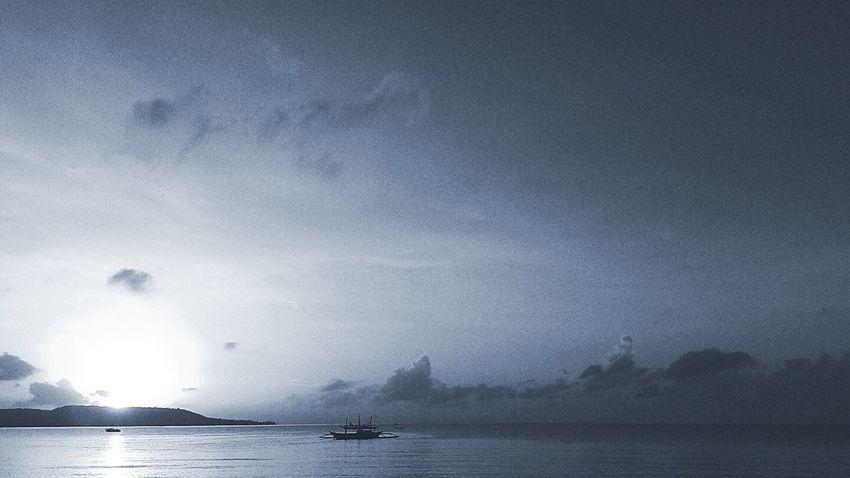 'Blue' Sunrise...