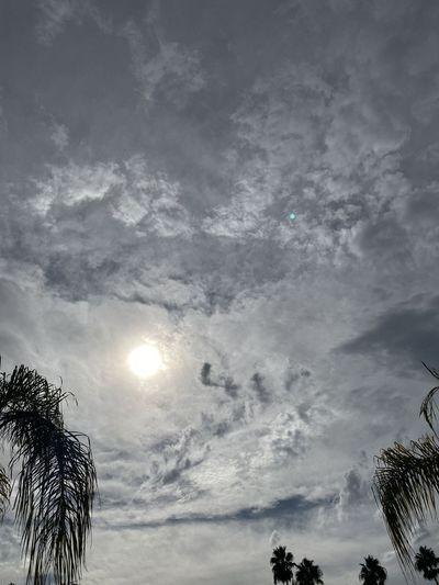 It's cloudy Sky
