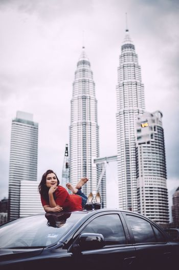 A portraiture session with Miss Dahlia Good Morning Lancer Mitsubishi Klcc Petronas Twin Towers The Fashionist - 2015 EyeEm Awards The Portraitist - 2015 EyeEm Awards