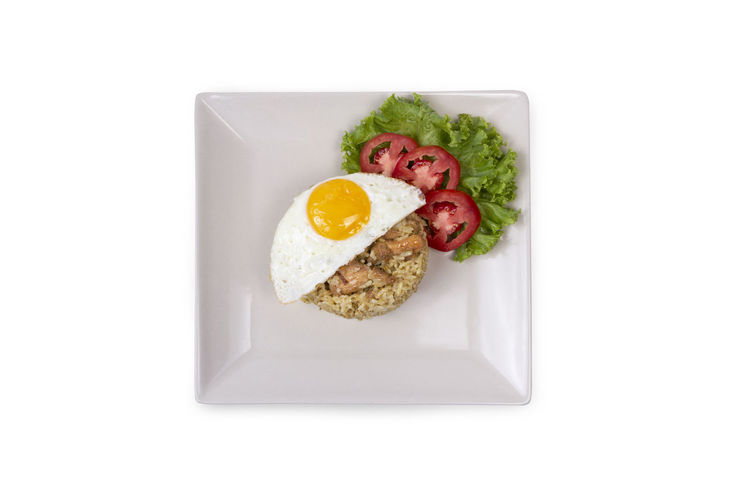 Fried rice with tuna and fried egg on whitebackground Food Egg Healthy Eating Food And Drink Meal Breakfast White Background Fried Egg Indoors  No People Lunch Box Thaifood Thaifoods Fried Egg Fried Eggs Fried Egg Thai Style Fried Rice With Egg Fried Rice Tuna Dinner Meal