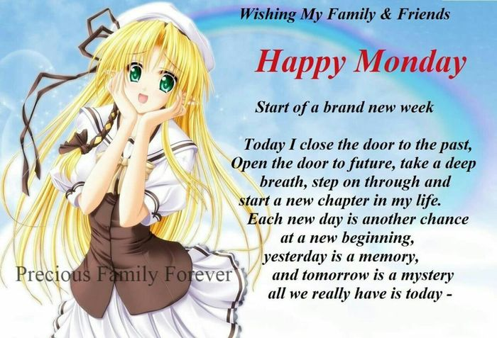 Happy Monday Monday Enjoying Life