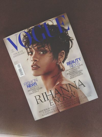 Check This Out Cheese! Rihanna Vogue
