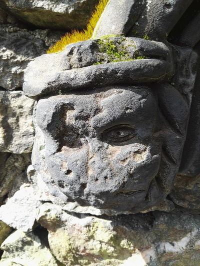 Sunlight No People Outdoors Day Close-up Stone Statue Stone Material Stone Carving Abandoned Lonely Nature