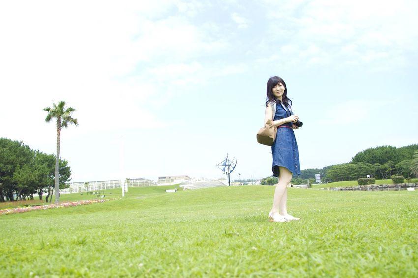 Asian Girl ASIA Asian Beauty カメラ カメラ女子 Street 道 People Photo Girl Photography Pretty 日本 Japan Friends 青春 爽やか 夏 Summer Trip 可愛い Friend Portrait