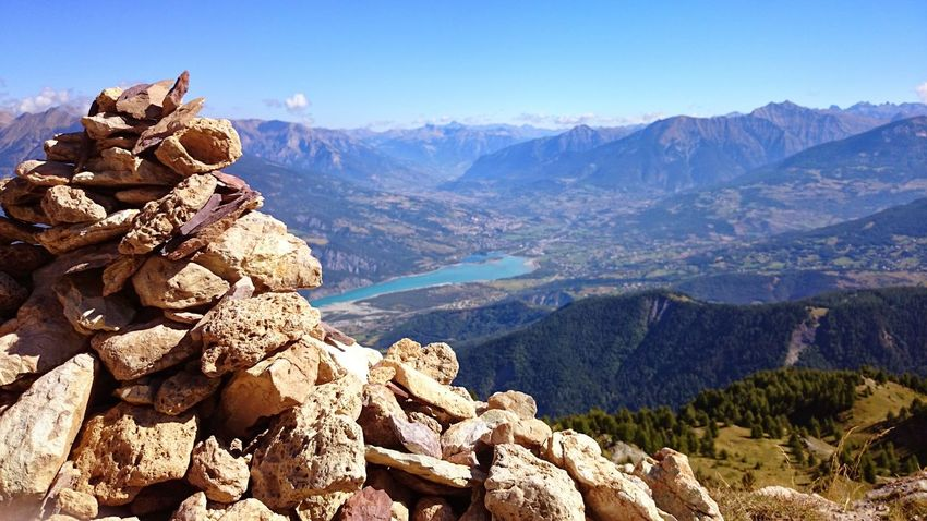 Mountain Peak Landscape Mountain Hikingadventures Hiking❤ Lake