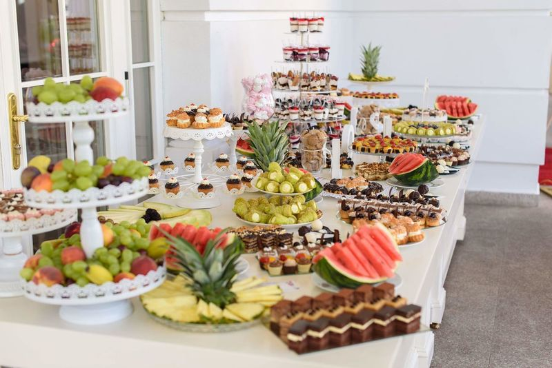 Wedding Fruit Bar Wedding Candy Candy Bar EyeEm Selects Dessert Cake Variation Celebration Sweet Food Food And Drink Cupcake Tart - Dessert Chocolate Cake