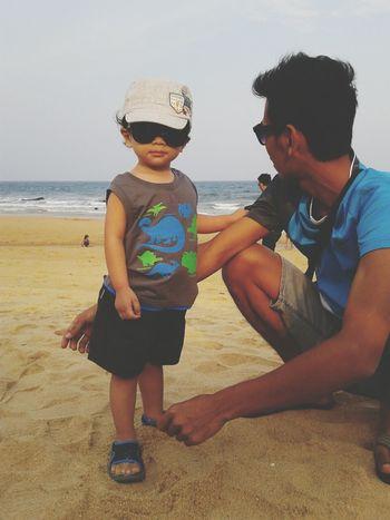 Pantai Batu Buruk,Terengganu,Malaysia My Baby Cousin ❤ Cute Baby Boy Belong Anywhere