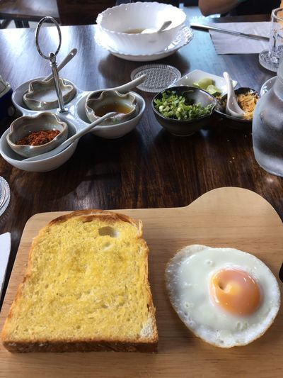 Food And Drink Food Table Freshness Wellbeing Healthy Eating Plate Egg Yolk Egg