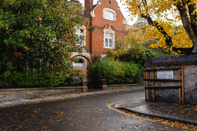 Autumn in London Tree Architecture Plant Building Exterior Built Structure Building Nature Autumn No People Street Transportation Day Residential District City Leaf The Past Plant Part House Footpath Outdoors London Travel Destinations Autumn Autumn colors Autumn Leaves Autumn Mood