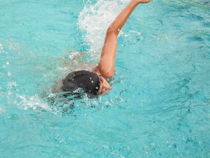 Pooling around Swimming Pool