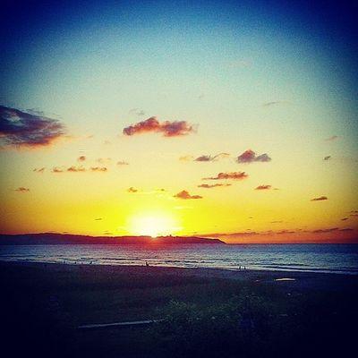 PlayadeVega Asturias Sunset