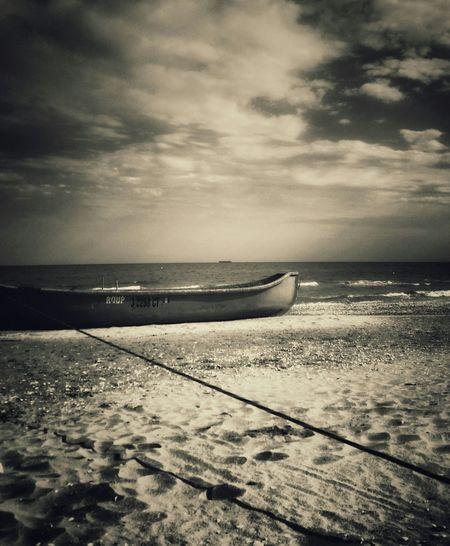 Were Ready For The Storm Autumn Enjoy The Silence Plaja Vadu Romania Enjoying Life Fishing Boat Black And White