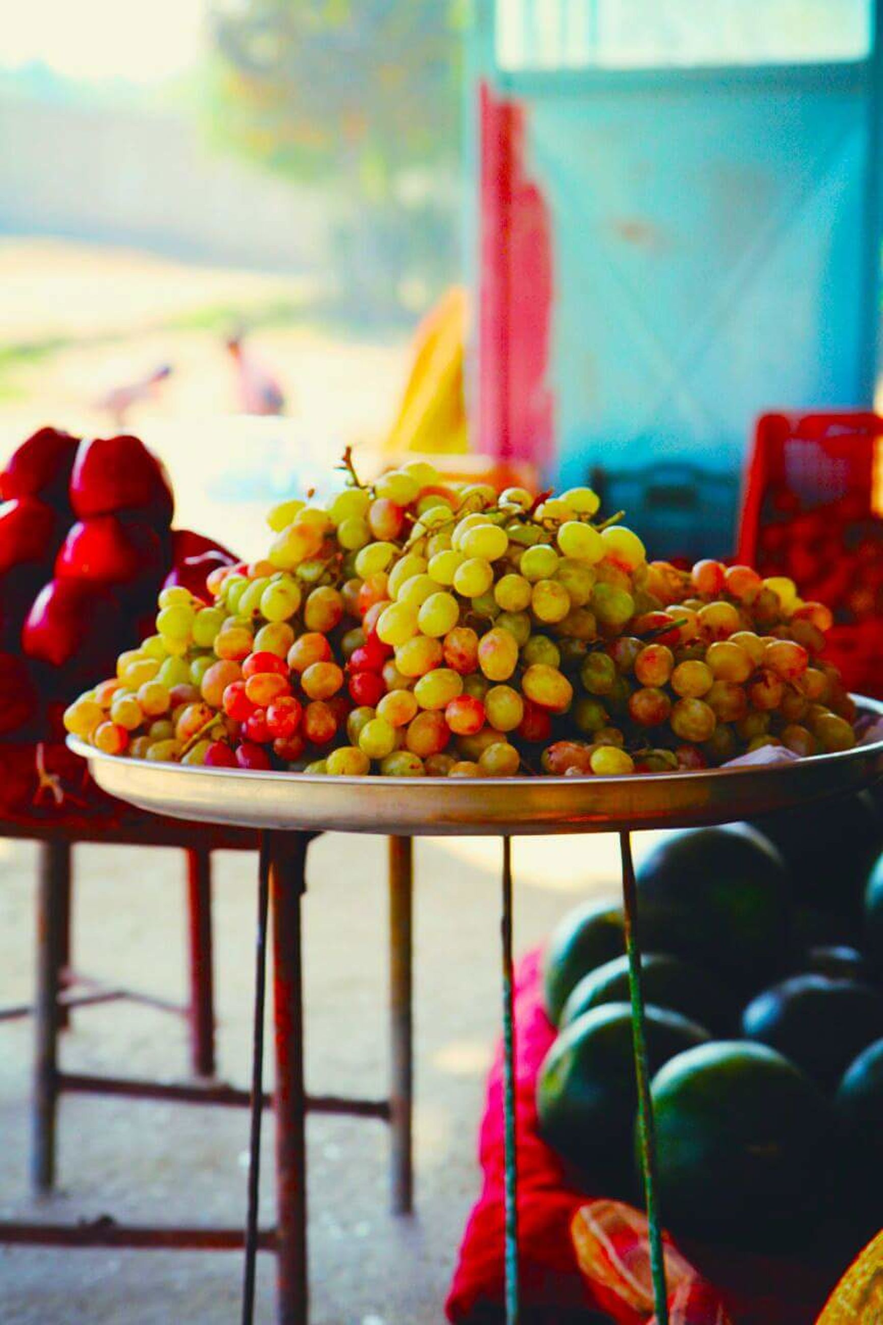 fruit, food, freshness, healthy eating, focus on foreground, food and drink, close-up, grape, outdoors, no people, day