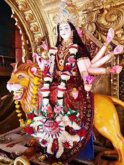 Religion Statue Durgapuja Durga Puja Durga Puja 2017