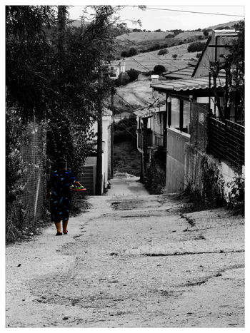 Walking Day Outdoors One Person Real People The Way Forward Food Village Greece NewHere ✌🏽️😄 Adult EyeEmNewHere