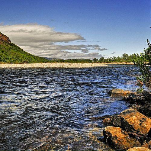 Norway River Stabburselva Flyfishing  salmon