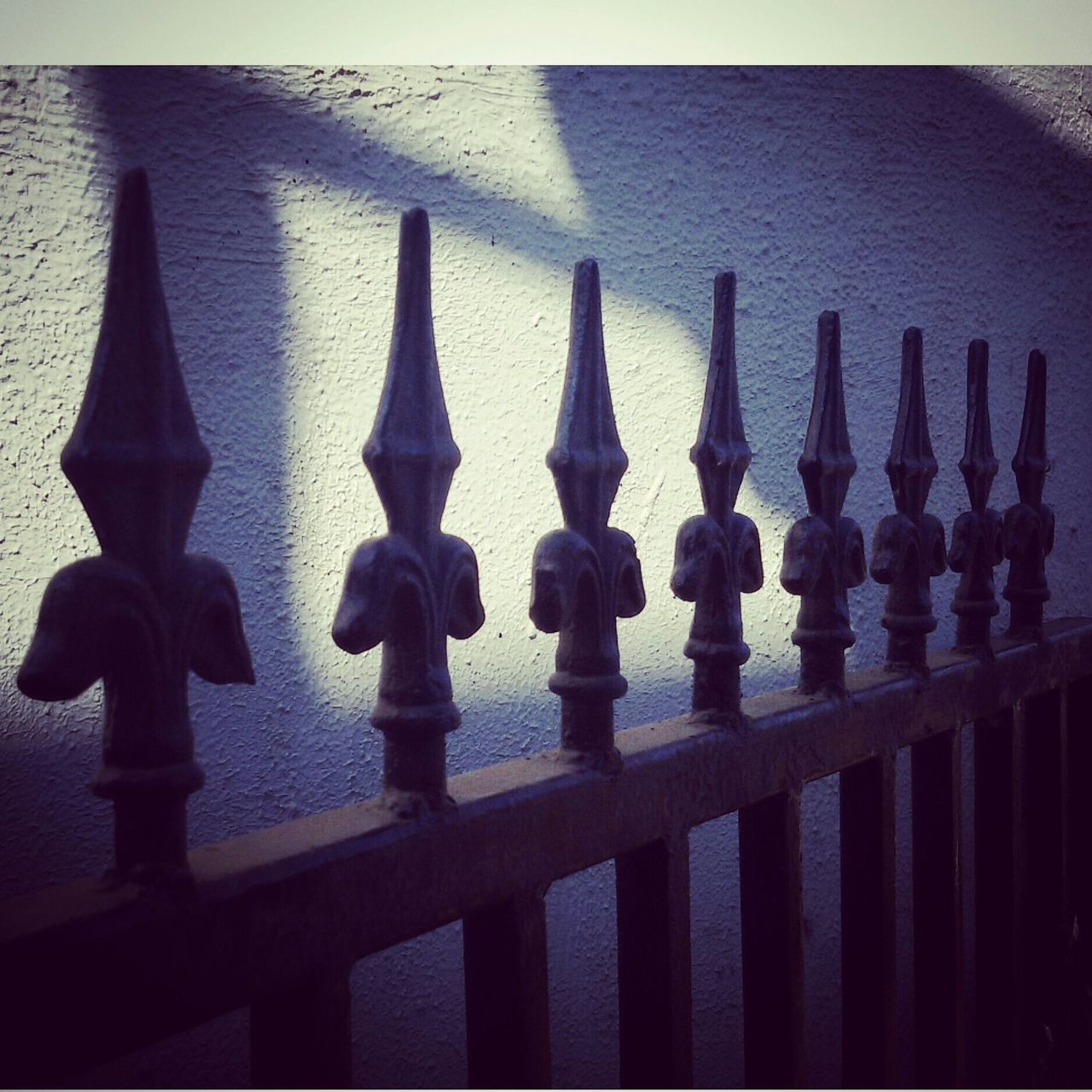 railing, no people, sea, day, outdoors, water, architecture, close-up, chess piece, chess